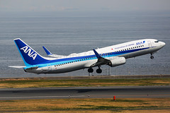 ANA Boeing 737-881 JA70AN (Mark Harris photography) Tags: spotting hnd japan ana boeing 737 canon 5d