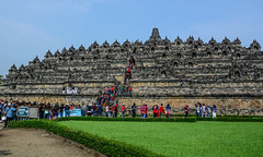 Borobudur Temple on Java Island, Indonesia (phuong.sg@gmail.com) Tags: ancient architecture asia attraction big borobudur buddha buddhist building culture destination exotic faith famous god history indonesia island java landmark meditation monument mystical outdoor pagoda places praying religion religious ruin sculpture sightseeing southeast statue stone stupa temple tourism traditional travel trip unesco worship