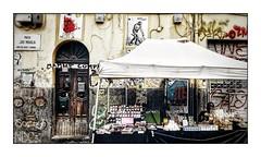 Napoli Walls 17 (Jean-Louis DUMAS) Tags: graphiti streetart wall murs hdr italia italie naples napoli art de la rue smile tag sony travel traveler trip voyage voyageur poubelles décharge people personne black