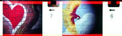 wall art (pho-Tony) Tags: 110 clowncamera expiredfilm toycameras novelty clown camera toy expired fujicolor superia iso 200 film tetenal c41