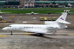 Deer Jet Dassault Falcon 7X B-8202 (Manuel Negrerie) Tags: b8202 dassault falcon 7x tsa taxiway bizjet deerjet china taipei airport aviation executive spotting songshanairport dassaultfalcon