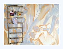 passage wall (overthemoon) Tags: switzerland suisse schweiz svizzera romandie vaud lausanne rôtillon urbanrenewal colourful phone frame utata:project=paint