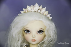 Motley seashells crown YOSD (AnnaZu) Tags: motley seashells crown headband yosd littlefee chloe annazu annaku doll fairyland polymer clay commission vesnushkahandmade magnetic