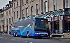 Shearings Coach 518, Royal Hotel, Whitby. (ManOfYorkshire) Tags: shearings 518 bj13ztk setra kassbohrer coach bus whitby royalhotel yorkshire triaxle holidays tour tours