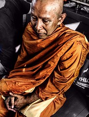 Monk in Thailand (m.iop91) Tags: travel bangkok 4000d canon eos photo buddhism picture monk thailand