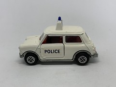 Dinky Toys / Meccano - Number 250 - Mini Cooper Police Car - Miniature Diecast Metal Scale Model Emergency Services Vehicle (firehouse.ie) Tags: dinky250 dinkytoys austincoopers austincooper bmc vintage toys toy morrismini minicooper morris miniatures miniature models model metal meccano car police mini dinky