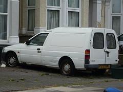 1997 Ford Escort 55D Van (Neil's classics) Tags: vehicle 1997 ford escort 55d abandoned van