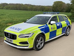 Volvo V90 Essex Police Traffic Car (Mike's Code 3 Models) Tags: volvo v90 essex police traffic car