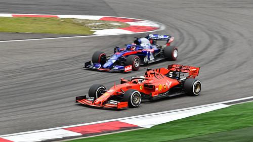 Sebastian Vettel & Daniil Kvyat