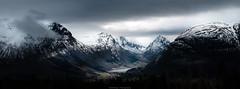 Byrkjelo (Steinskog) Tags: mountains norway snow clouds fujifilm gfx50r panoramic