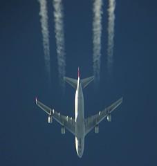 Cargolux Italia   B744   LX-TCV (scorpio86planespotting) Tags: cargolux italia b744 lxtcv b747 rnav planespotting aircraft jet plane inflight samolot avgeek contrail polish sky aviation spotting