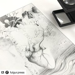 #repost We are on press with Janaka Stucky's poem Ascend Ascend... complemented with seven glorious images by K Lenore Siner. #fulgurpress #ecstaticpoetry #janakastucky #starandsnakeresidency #klenoresiner #esotericart #graphite #pencildrawing #drawing #i (k lenore siner) Tags: klenoresiner occultart painting sacredart inspiration