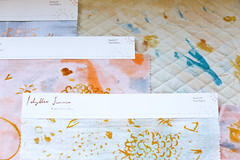Linen House Swatches (Sophie Banh) Tags: textiledesign textileprint textile print swatch dye dyed handpainted solution linen screenprint screenprinted screenprinting colour bedlinen bed industry project industryproject fruit scenery italy sunny summer collection