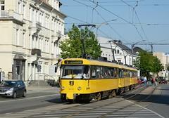 267+217+033 Linie E3 (Kevin Schenkel) Tags: tatra t4d tram dvb dresden verkehr nahverkehr öpnv strasenbahn sonne frühling fotografie