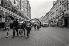 DRD160605_0823 (dmitryzhkov) Tags: urban outdoor life human social public stranger photojournalism candid street dmitryryzhkov moscow russia streetphotography people bw blackandwhite monochrome arbat arbatstreet