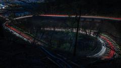 Lichtspuren bei Nacht (Nic2209) Tags: nikond750 nic2209 flickr2019 flickr 2019 allemange alemania europa deutschland germany ruhrgebiet ruhrpott westfalen nacht licht farben light colors illumination langzeitbelichtung longexposure lichtspuren nachts dunkel ninis ninicrew night