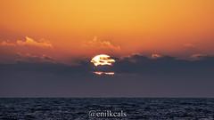 Sunset (enilkcals) Tags: sunset clouds ocean pacific oceano pacifico water sun herradura chile coquimbo