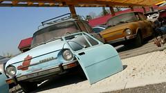 Skoda 100 (vwcorrado89) Tags: rust rusty abandoned old car skoda 100