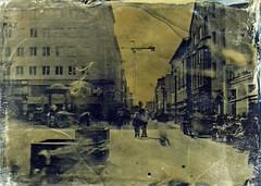 Vappu oulu (Sonofsono) Tags: oulu vappu finland wet plate varnish black bw white fkd glass ambrotype