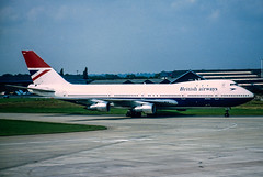 BA 747-200 (Martyn Cartledge / www.aspphotography.net) Tags: 747200 aerodrome aeroplane air aircraft airline airliner airplane airport aspphotography aviation boeing britishairways cartledge civilairline civilairliner flight fly flying flywinglets gawnj jet martyn plane runway transport wwwaspphotographynet wwwflywingletscom uk asp photography