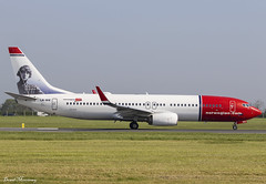 Norwegian (Asta Nielsen Livery) 737-800 LN-NIE (birrlad) Tags: dublin dub ireland international airport aircraft airplane airplanes aviation airline airliner airlines airways taxi taxiway takeoff departing departure runway boeing b737 b738 737 737800 7378jp lnnie norwegian stockholm dy4468 norshuttle