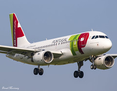 TAP Portugal A319-100 CS-TTV (birrlad) Tags: dublin dub ireland international airport aircraft airplane airplanes aviation airline airliner airlines airways arrival arriving approach finals landing runway airbus a319 a319100 a319112 csttv tap airportugal lisbon