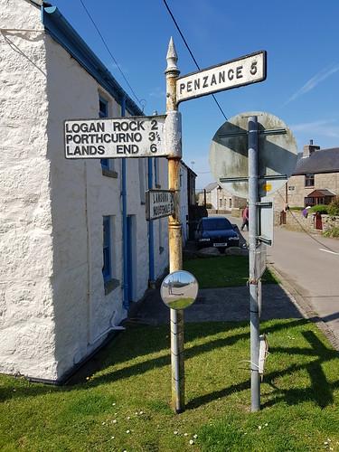 St Buryan Road Sign 1 210419