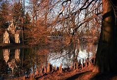 "Cincinnati - Spring Grove Cemetery & Arboretum ""Morning Light At Robinson Mausoleum"" (David Paul Ohmer) Tags: cincinnati ohio spring grove cemetery arboretum light morning robinson mausoleum reflection"