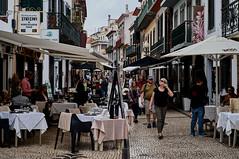 Funchal, Madeira (kendo1938) Tags: funchal madeira portugal prt streetscene streetphotography street cafe cafes restaurants balconies ruadacarreira