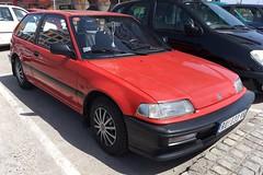 1990 Honda Civic 1.6 16 Valve GL (FromKG) Tags: honda civic 1616v gl red car kragujevac serbia 2019