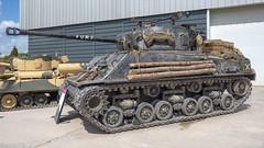 Fury Sherman M4A2(76) (Warhead Blue) Tags: 16x9 olympus1240mmf28pro 80iso olympuspenf shermanm4a2 bovingtontankmuseum fury shermantank