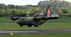 ZH887 (PrestwickAirportPhotography) Tags: egpk prestwick airport raf royal air force lockheed c130j hercules zh887