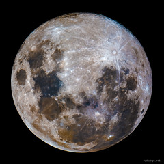 Full Moon (cafuego) Tags: luna moon stack astrophotography