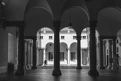 Arcs (Andrea Rizzi Esk) Tags: arcs architecture genoa italy black white bw shadow secret soft dark critical city urban street 2019 travel linee