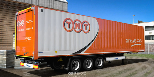TNT Express skin for the DLC Krone DryLiner [ETS2] - a photo
