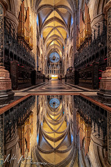 Upon reflection  ... (Mike Ridley.) Tags: durham durhamcity durhamcathedral reflection sonya7r2 samyangxp14mmf24 mikeridley