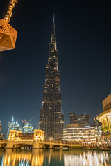 Burj Khalifa at night (lars.br3m3n) Tags: burj khalifa dubai sony a7r2 zeiss batis 252