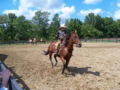 OH Williamsburg - Old West 4 (scottamus) Tags: williamsburg ohio clermontcounty fair festival event oldwestfestival horse rider cowboy