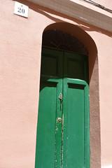 green door (Hayashina) Tags: green door alghero 20 sardegna italy