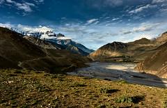 Kagbeni. A view from plateau. (YogiMik) Tags: annapurna nepalhimalaya yogi mik trekking mountains summit travel rocky amazing awesome beautiful landscape