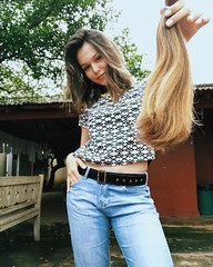 aafvx (morikarak) Tags: long short longhair shorthair blonde brunette curls wavyhair hairstyle makeover rapunzel shave headshave bald haircut hairs ponytail braid thickhair