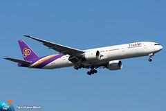 HS-TKU (minh261) Tags: thai airways boeing 777 777300 777300er bangkok suvarnabhumi airport