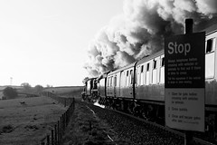 Mono steam (Jacobite52) Tags: 8f 48151 35018 bil britishindialine wcrc lms southern railway train steam mainlinesteam