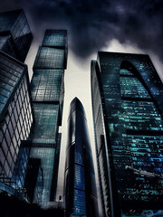 #Moscow #City #Dark #Skyscrapers (NO PHOTOGRAPHER) Tags: lumix dmcg7 hochhaus gebäude cityscape skyline detail construction blackandwhite monochrome architecture architectural urban building outdoor iphoneography iphonephotography exterier russia moscowcity technoart sky clouds moscowphotography blue panorama panoramatic light shade dark shadow city geometric lookingup window skycraper iphone 7s skycrapers aboutlove analogy freestyle fineart blackandwhitephoto monochromephotography москвасити hochhauspanorama 8