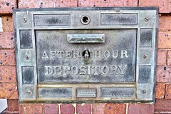After Hour Depository, Harrison, OH (Robby Virus) Tags: harrison ohio oh hours after night deposit depository bank banking money