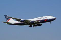 G-BNLY Heathrow 20-04-19 (IanL2) Tags: britishairways boeing 747 jumbo gbnly landor airliners aircraft london heathrow airport