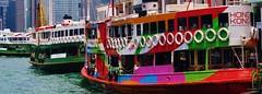 More Star Ferries (Ben Zabulis) Tags: asia starferry ferrypier hongkong hksar fareast victoriaharbour kowloon tsimshatsui transport ferry travel 九龍 尖沙咀 香港 維多利亞港 天星小輪 5photosaday boat asiasworldcity publictransport nightstar northernstar