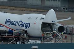 JA17KZ (edo420) Tags: d5 500mmf56 飛行機 airplane ja17kz ボーイング boeing b747 成田 成田空港 narita 千葉 chiba pf pflens pfレンズ japan