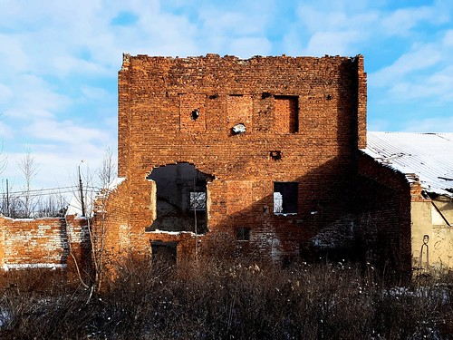 Taldom. Old brick wall_ ©  Sergei F