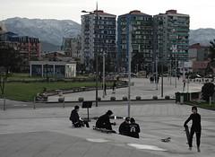 wait a minute! (LubosK) Tags: batumi georgia skate skaters guys brutalism concrete blockofflat flat streetculture free freedom east trip winter black